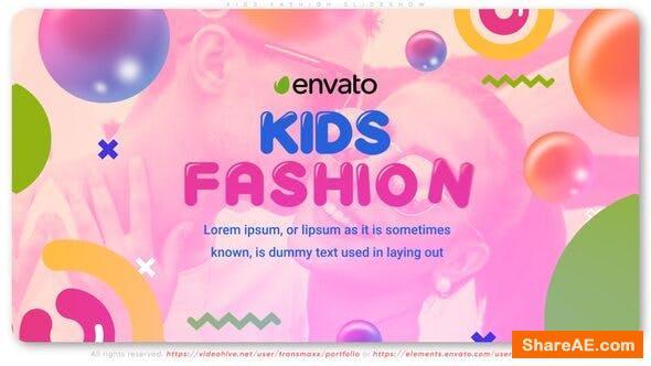 Videohive Kids Fashion Slideshow