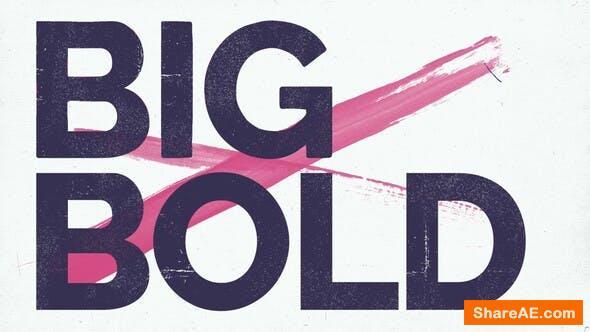 Videohive Big Bold Stomp Titles