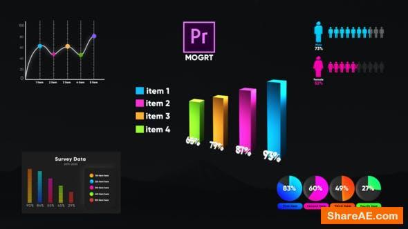 Videohive Infographic Smart Graphs-MOGRT - Premiere Pro