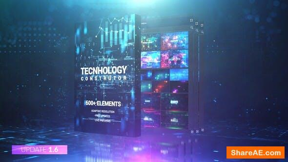 Videohive Technology Constructor
