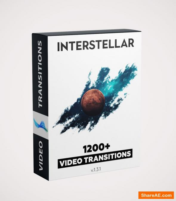 Interstellar 1200 Video Transitions - Video Presets