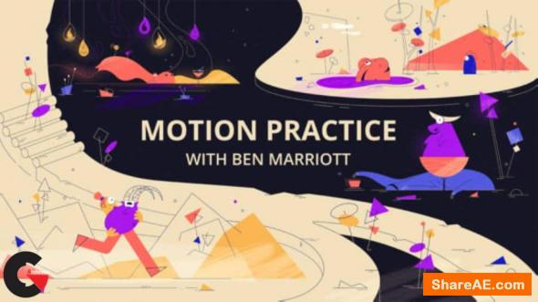 Motion Design School – Motion Practice with Ben Marriott