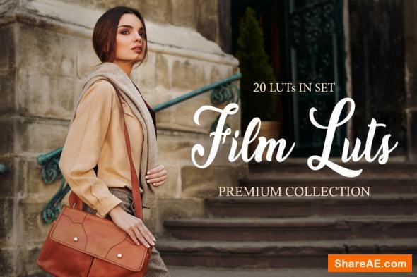 Film LUTs - Fixthephoto