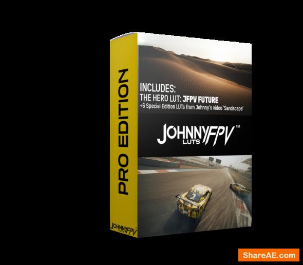 Johnny FPV™ LUTS (PRO Edition)