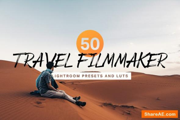 50 Travel Filmmaker Presets and LUTs