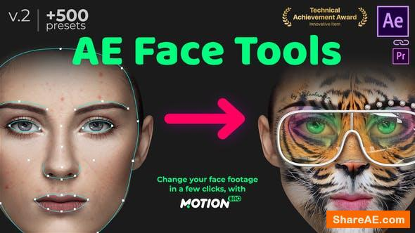 Videohive AE Face Tools v2