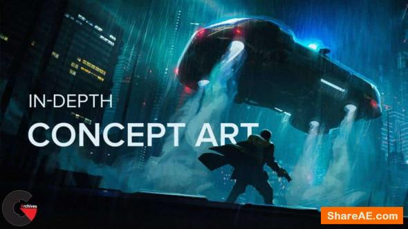 In-Depth Concept Art - Motion Design School