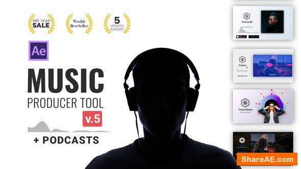 Videohive Audio Visualization // Music Producer Tool v5