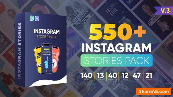Videohive Instagram Stories v3 24119749