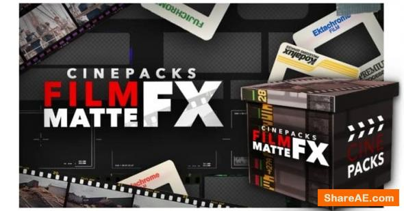Film Matte FX includes - CinePacks