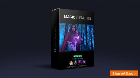 Pack - 4K Magic Elements Bundle