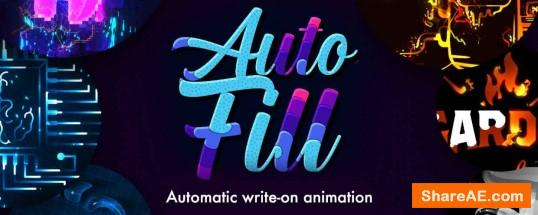 AutoFill v1.0 For After Effects (WIN/MAC) - Aescripts