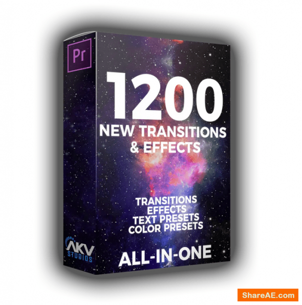 1200+ Transitions & Effects - Elite Editor Pack