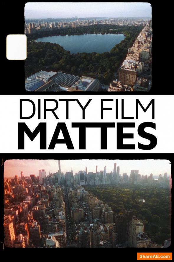 Dirty Film Mattes PRO - Master Filmmaker