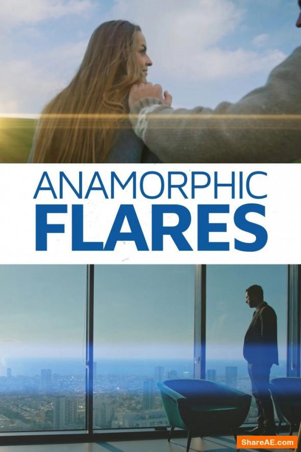 Anamorphic Flares - Master Filmmaker