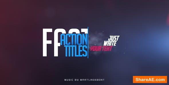 Videohive Fast Action Titles