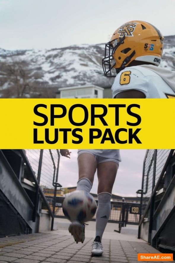 Sports LUT Pack - Master Filmmaker