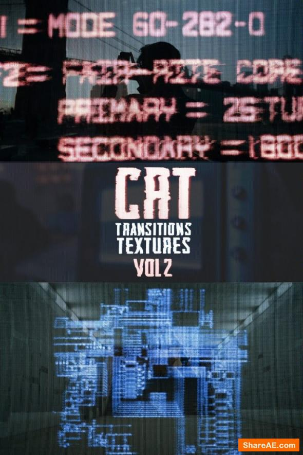 CRT Transitions + Texture Vol. 2 - Master Filmmaker