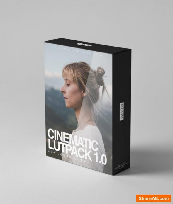 Cinematic LUTPACK 1.0 by CMG