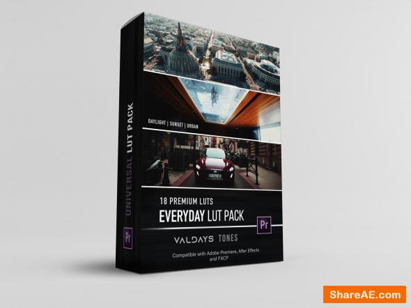 Everyday LUT Pack - Valdaysfilm