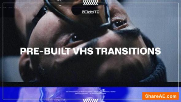 Pre-Built VHS Transitions - AcidBite