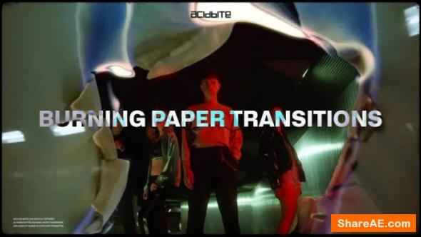 Burning Paper Transitions - AcidBite