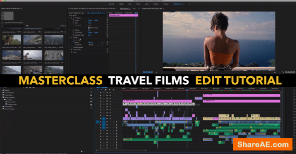 "Masterclass ""Travel Films"" Edit Tutorial"