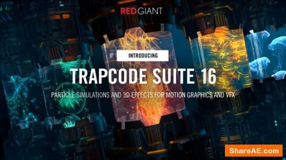 Red Giant Trapcode Suite 16.0 (WIN/MAC)