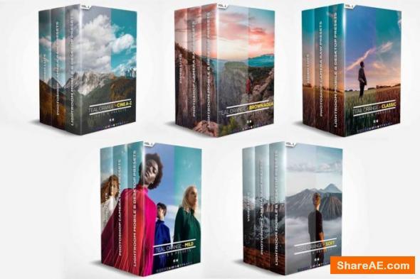 Riyazmn - Teal And Orange - Standard Pack