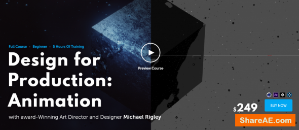 Design for Production: Animation