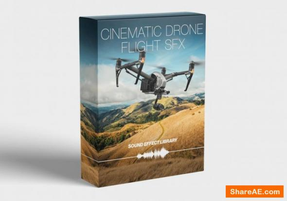 Cinematic Drone Flight SFX Library