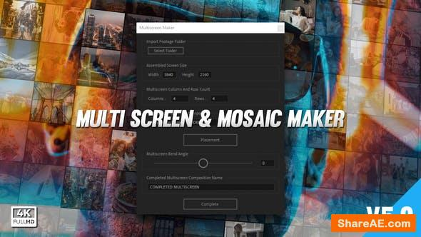 Videohive Multi Video Screen Maker Auto v5