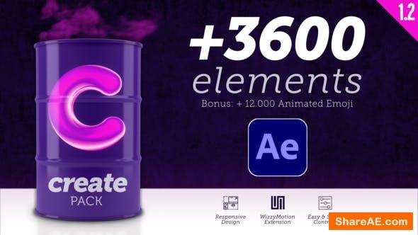 Videohive Create Pack v1.2
