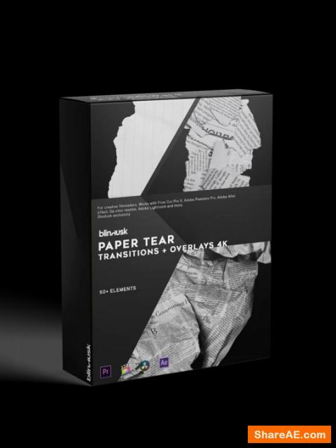 Paper Tear Transitions - Blindusk