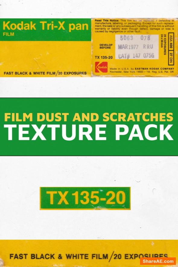 Film Dust and Scratches Pack PRO - Master Filmmaker