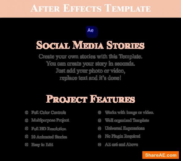 Videohive Social Media Stories