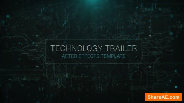 Videohive Advanced Technology Trailer