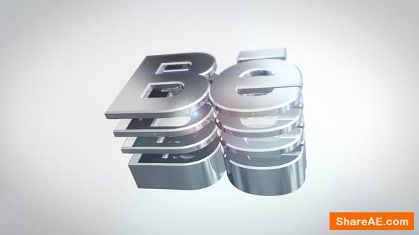 Videohive 3D Simple Reflective Logo