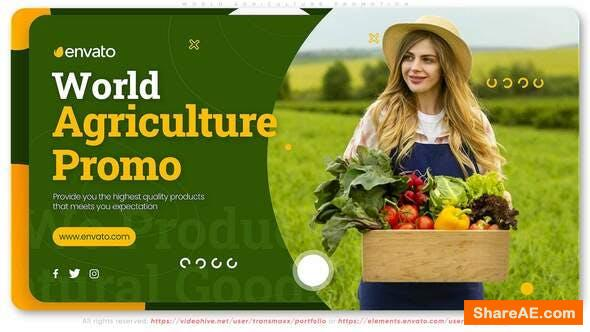Videohive World Agriculture Promotion