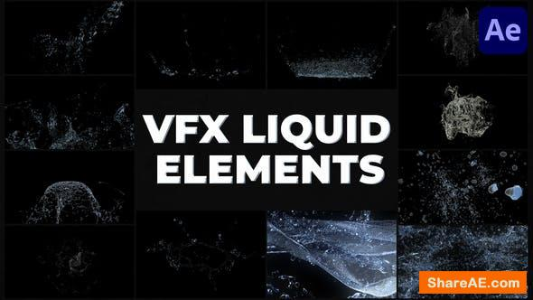 Videohive VFX Liquid Pack | After Effects