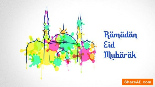 Videohive Ramadan Watercolor