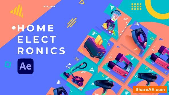 Videohive Home Electronics Product Promo | After Effects