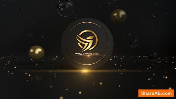 Videohive Golden Logo Opener