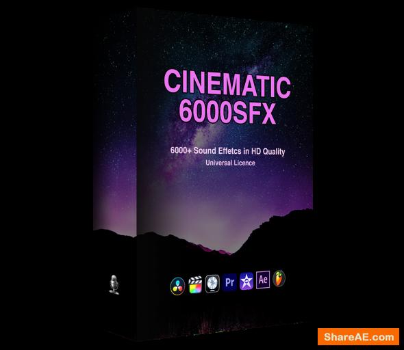 6000+ Cinematic SFX Ultimate Bundle Pack