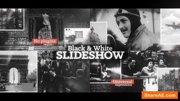 Videohive Black & White Slideshow