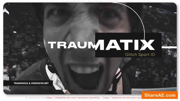Videohive Traumatix Glitch Intro