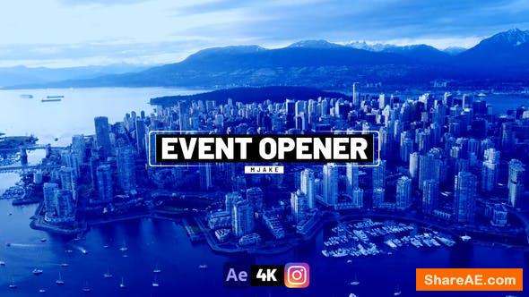 Videohive Modern Event Opener 33814125