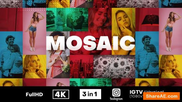Videohive Mosaic Fast Intro 30930486