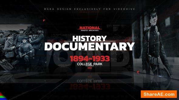 Videohive History Documentary | Promo 30860928