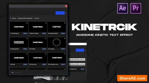 Videohive Kinetrick Text Effect 34112619